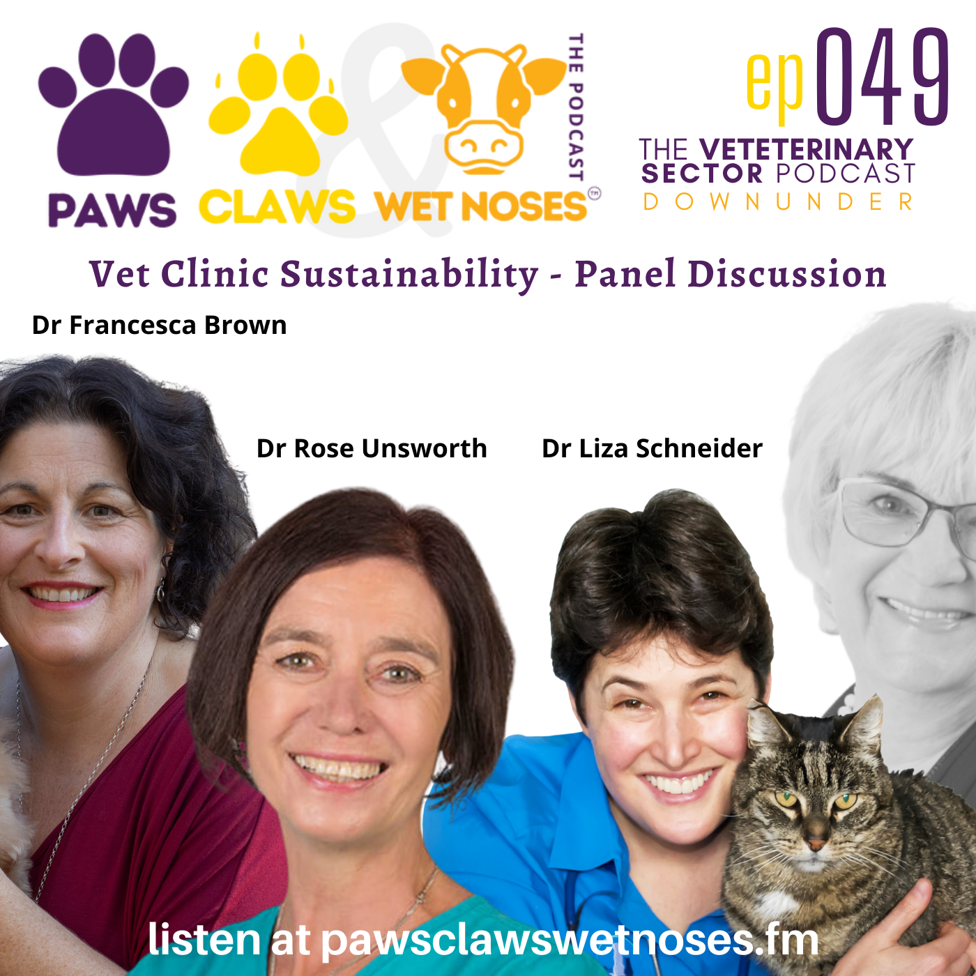 Paws, Claws & Wet Noses | veterinary podcast